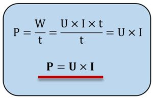 Elektrische Leistung Formel