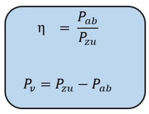 Wirkungsgrad Formeln