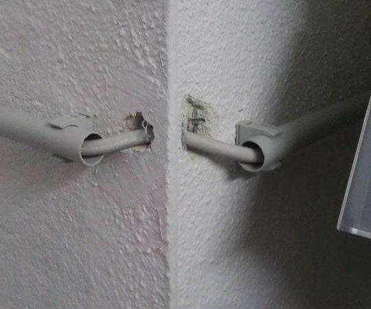 Kabel um die Ecke